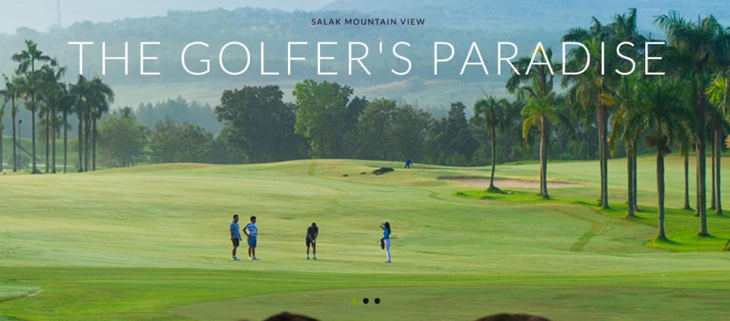 deemples: sentul highlands golf club the golfers paradise