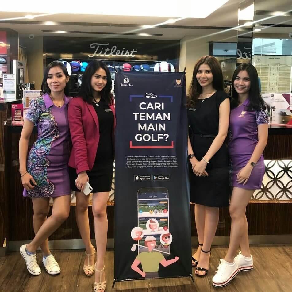 deemples sentul highland golf club bogor indonesia
