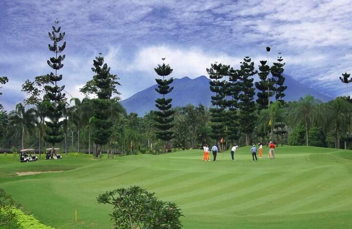 bogor raya golf courses indonesia deemples