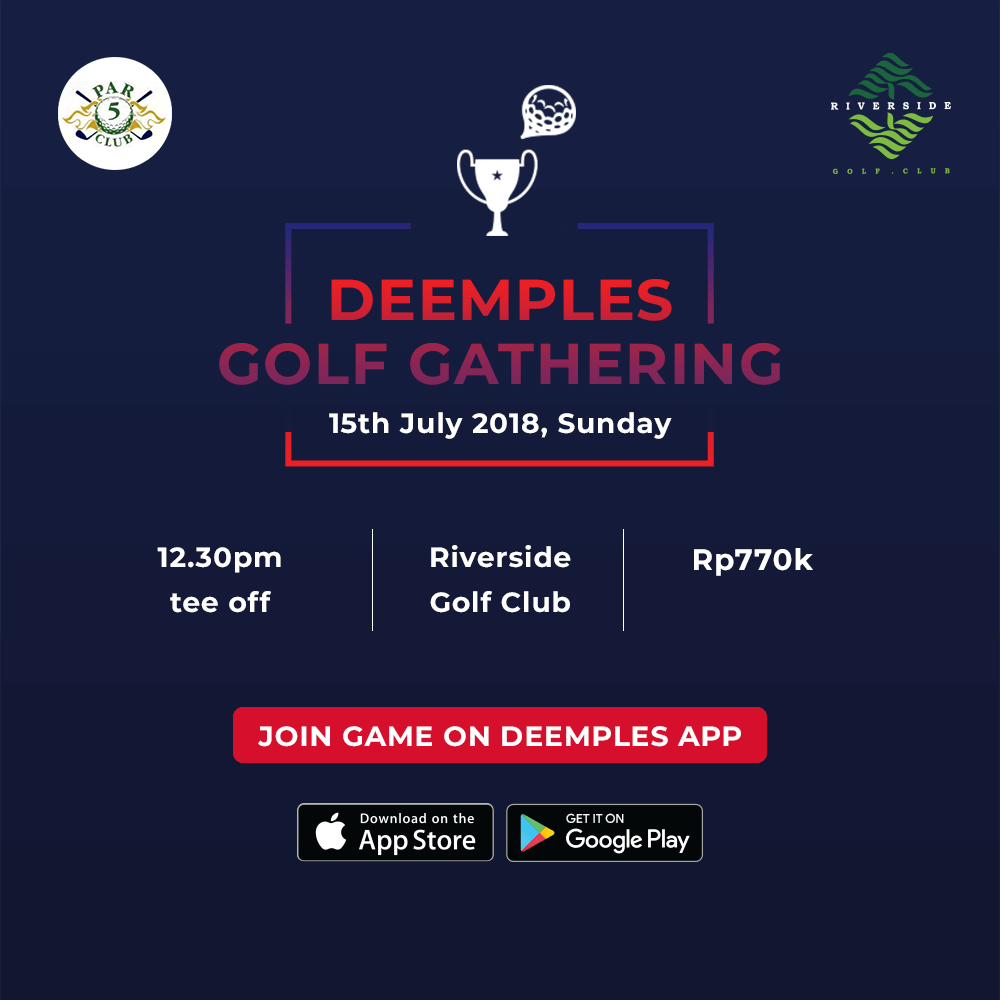deemples golf gathering riverside golf club