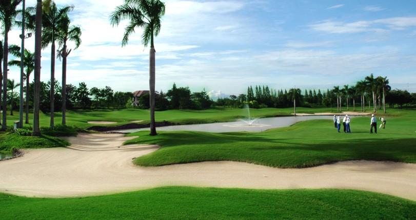 deemples golf course tangerang gading raya indonesia