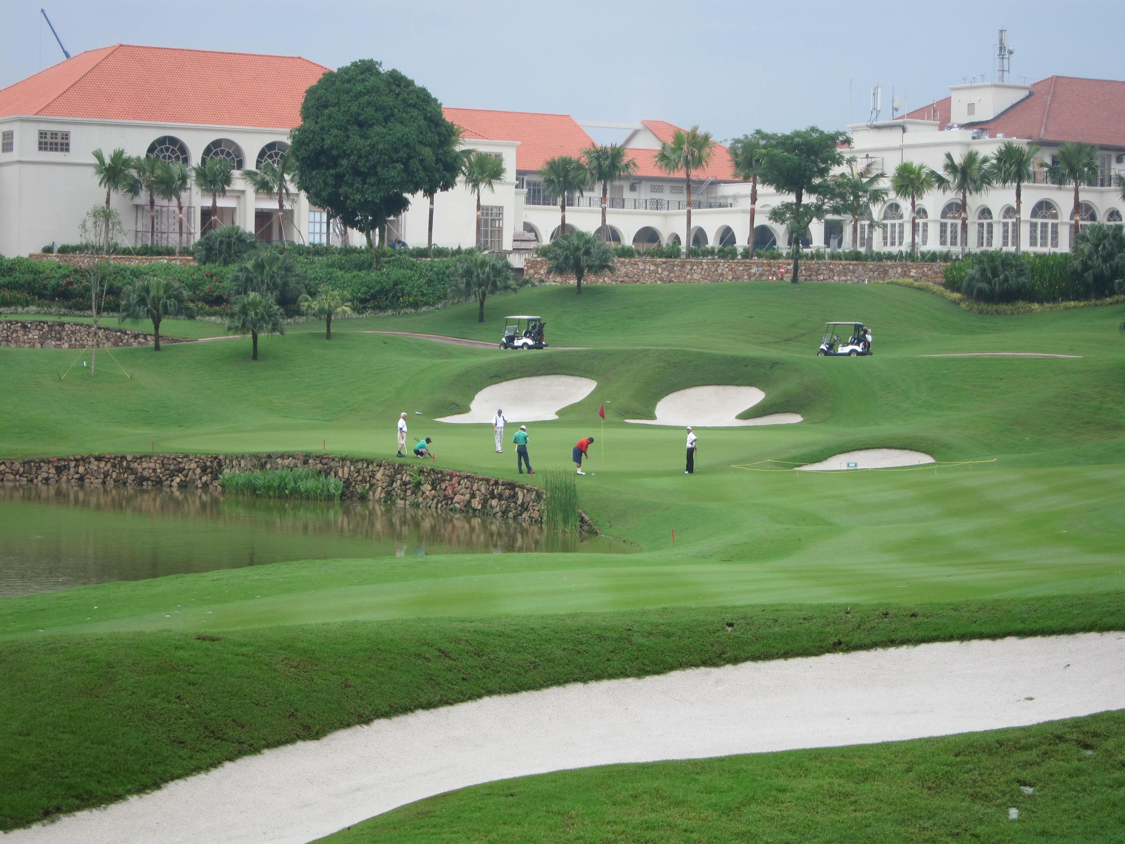 golf courses in Kuala Lumpur