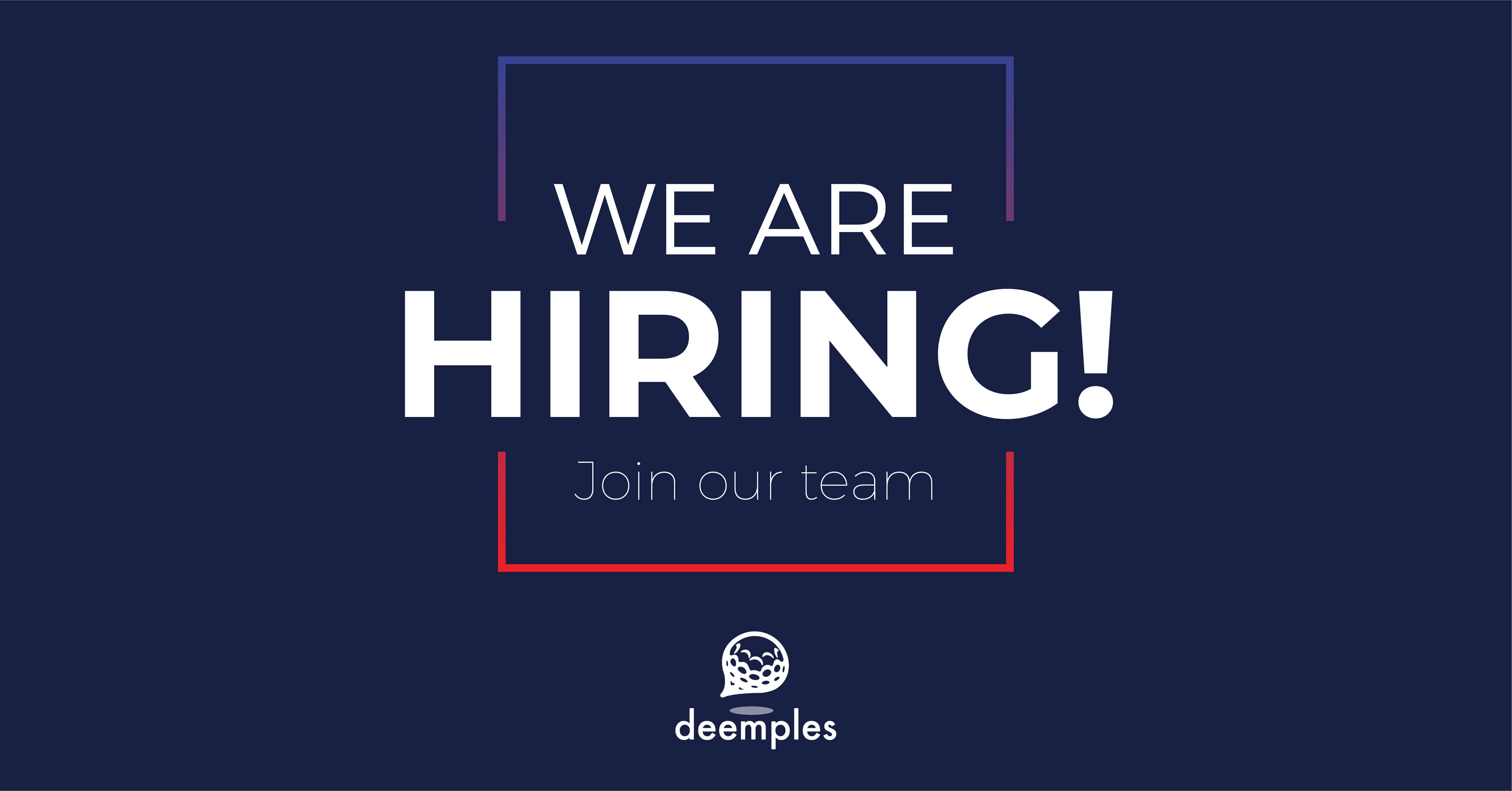 deemples hiring communications specialist