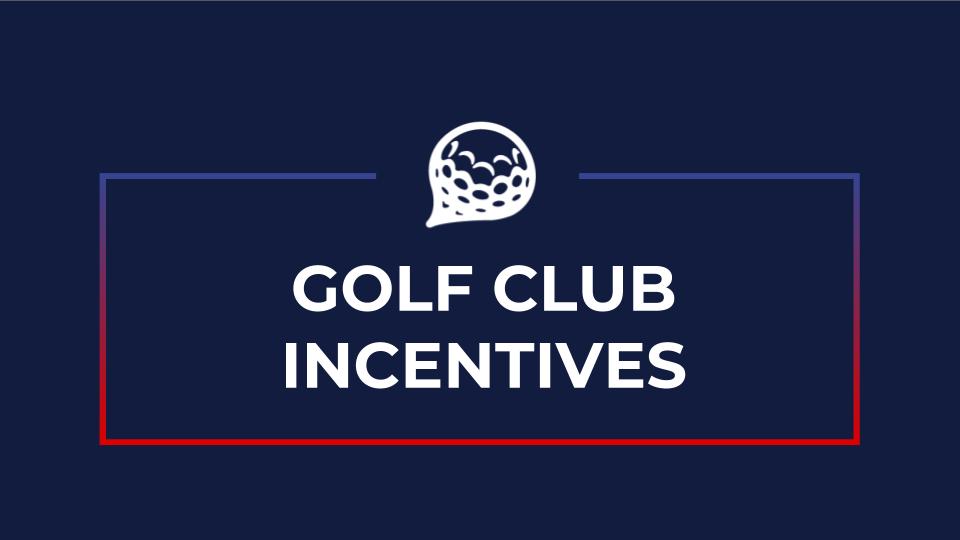 deemples golf club incentives