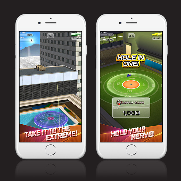 flick golf extreme in game screenshot