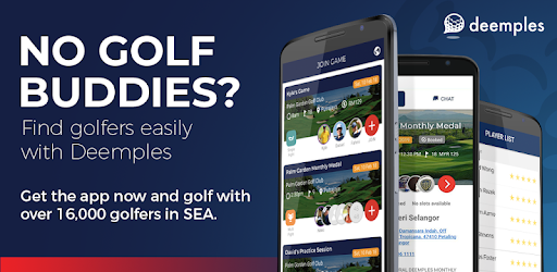 deemples golf app for networking