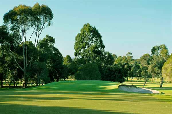 centenary park golf course