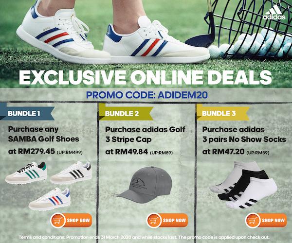 adidas Golf Special Offer