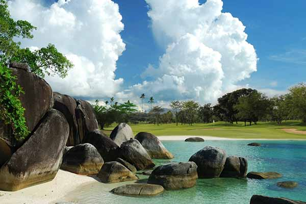 Black Rocks Golf Belitung, Indonesia