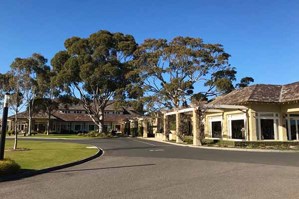 Clubhouse Royal Melbourne Golf Club
