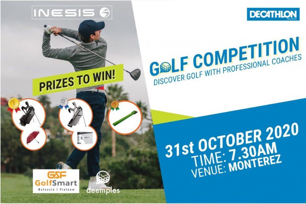 inesis golf game prizes