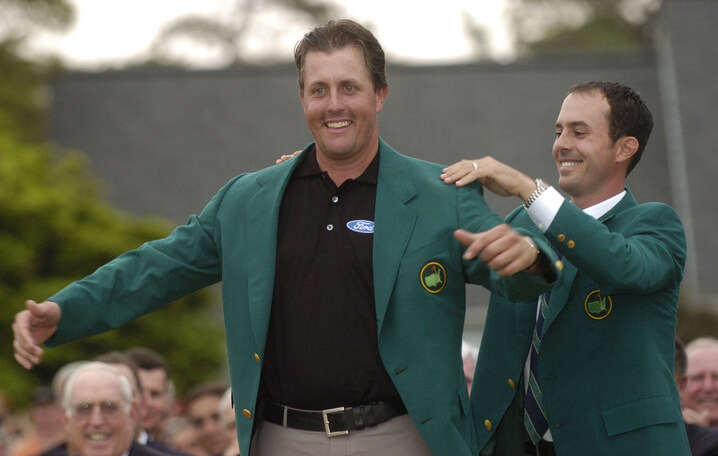 Phil Mickelson 2004 Masters