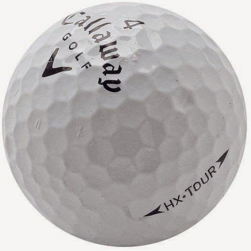 Hexagonal dimples on Callaway HX balls