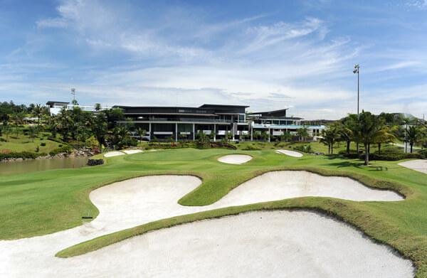 Palm Garden Golf Course Hole 18
